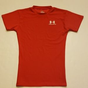 Under Armour compression red t-shirt size small
